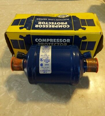 """Emerson Sfd-27S9-Vv/09438 27 Cubic Inch 1-1/8"""" Sweat Suction Line Filter Drier"""