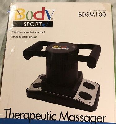Body Sport 2-Speed System Body Sport Therapeutic Massager Professional/home Use