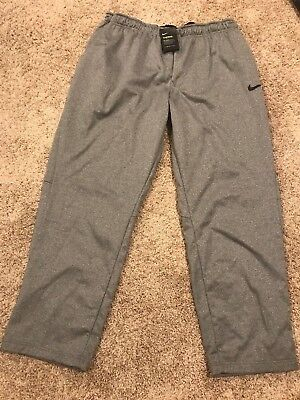 Nike Men/'s Therma Pants Carbon Heather Black 3XL 800191-091 MSRP $55