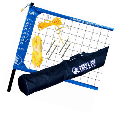 Park & Sun Sports Spectrum 2000: Portable Professional Outdoor Volleyball Net Sy