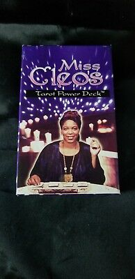 Miss Cleo's Tarot Power Deck Pre Owned