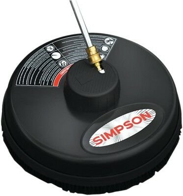 Simpson Surface Cleaner 15 in. 3,600 psi Quick Connect Plug Clean Driveway Patio