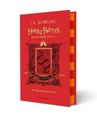 Harry Potter and the Chamber of Secrets - Gryffindor Edition by J.K. Rowling Har