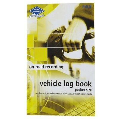 Zions PVLB Yellow Vehicle Log Book 33716