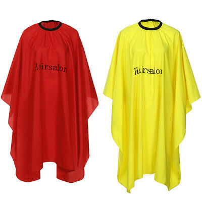 Salon Hair Cut Hairdressing Hairdresser Barber Cape Gown Cloth Apron Waterproof