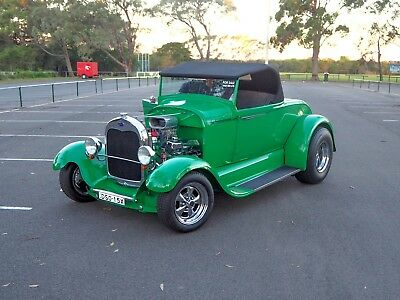 1928 Ford A Model Roadster -- Hot Rod Convertible