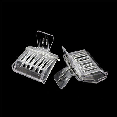 2Pcs Bee Tools Queen Cage Colorless Plastic Clip Bee Clip Beekeeping Equipment I