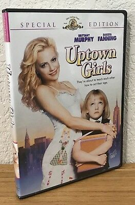 Uptown Girls (Dvd, 2004) Special Edition ~ Widescreen ~ Region 1