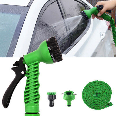 Garden Hose Nozzle Hand Sprayer Watering Nozzle 50ft Water Hose For Car Wash