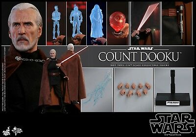 Deposit Hot Toys Mms496 Star Wars Episode Ii: Attack Of The Clones Count Dooku
