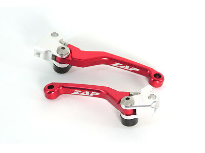 Zap Competition Klapphebelsatz Flexhebel Rot Honda CRF CR-F 250 450 2007-