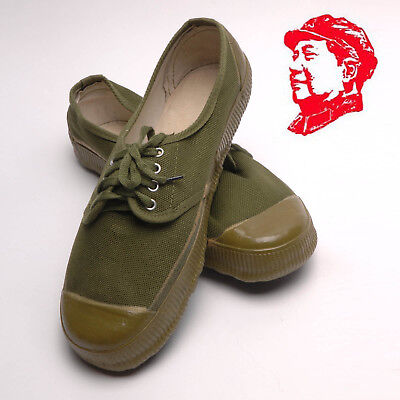 Chinese 1960's Army PLA Type 65 Vintage Liberation Shoes All Sizes Cosplay