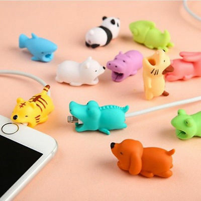 USB Cable Wire Charger Saver Protector For iPhone Macbook Samsung Sony HTC