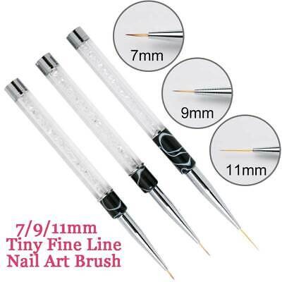 Tiny Fine Line DIY Nail Art Accessories Acrylic Pen Brush Painting Drawing Tools