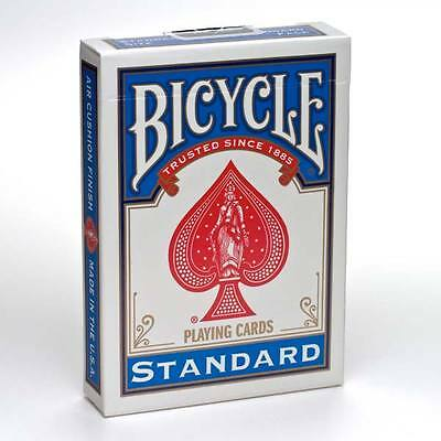Bicycle Playing Cards Poker Casino Magic Decks Tricks Games, Casino, Bridge,BLUE