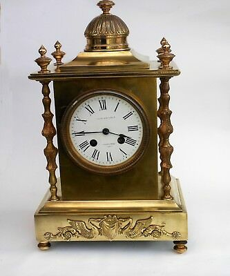 Beautiful antique chiming mantle clock
