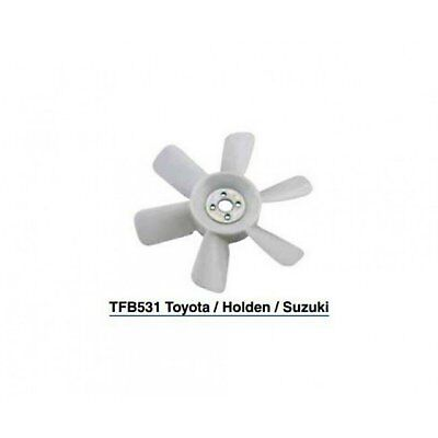 Tru-Flow (Truflow) Radiator Fan Blade Engine Bay TFB531 fits Holden Drover 1.3 4