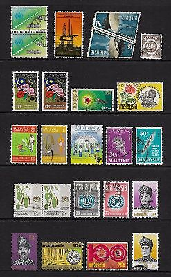 MALAYSIA - mixed collection No.14, incl joined pairs
