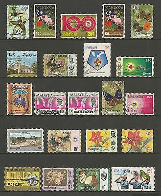 MALAYSIA & States - mixed collection No.7