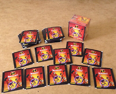 Panini Incredibles 2 Album Sticker Packets Super Heroes Incredibles 2 Stickers