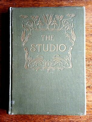 THE STUDIO Illustrated Magazine of Fine and Applied Art Several Vols from 1907
