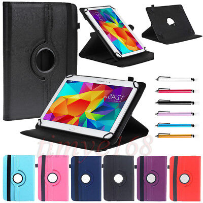 Universal 360 Rotate Stand Leather Case Cover For Telstra Enhanced Tablet 10.1