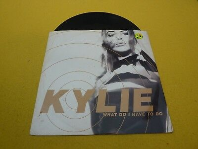 "Kylie Minogue ‎– What Do I Have To Do (VG/VG)  maxi single 12""  ç"