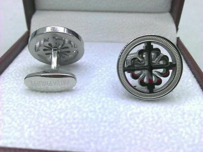Cufflinks Gemelli Patek Philippe type watch lover 18K silver plated Gemelos