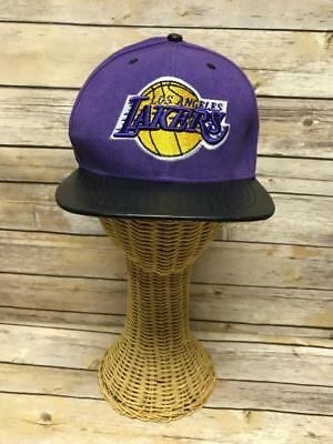 promo code 9b5bc 1e0d4 Mitchell   Ness Los Angeles Lakers Snapback Hat - NBA Basketball Classic Cap