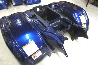Yamaha Grizzly 660 Rear Wing fenders bado frame SPECIAL EDITION blue