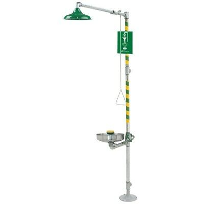 Haws 8309WC AXION MSR Combination Shower and Eye/Face Wash