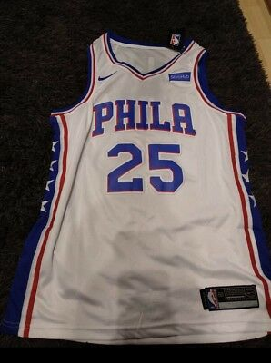 info for ba23f 083c3 Ben Simmons White Jersey Mens Large