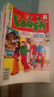 Archie Series Laugh Comic Book (LOT OF 94) MIXED LOT--Mostly 1977-1991