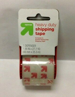 Up and UP (Scotch HD Clear version) 1.88-in x 27.7-Yard Clear Packing Tape