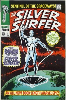 Us Comics Silver Surfer Digital Collection Of 160+ Comics On Dvd