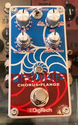 Used Digitech Nautila Chorus Flanger Guitar Effect Pedal with Box