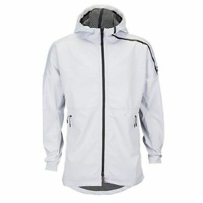 Men s adidas Athletics ZNE 90 10 Full-Zip Hoodie White SIZE SMALL (B46969 d4991a70b
