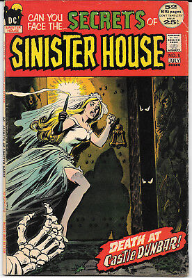 1972 Can You Face The Secrets Of Sinister House #52 VF DC Comics FREE BAG/BOARD