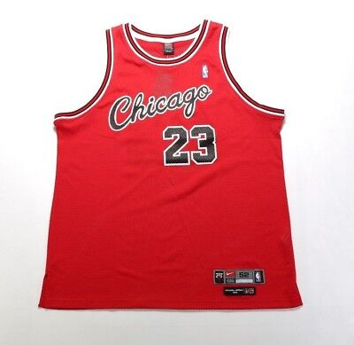 low priced 65df4 351e3 VINTAGE MICHAEL JORDAN Nike Chicago Bulls FLIGHT Jersey Size ...