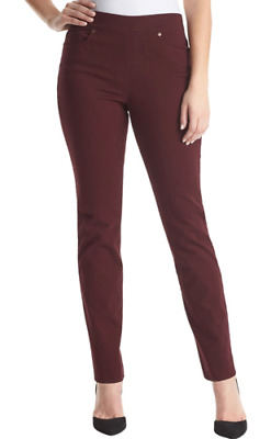 New! Gloria Vanderbilt Women's Avery Pull-On Stretch Jean Color Fig, Variety E05