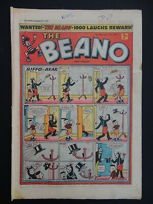 The Beano Comic No. 845 - September 27th 1958, VG- Copy