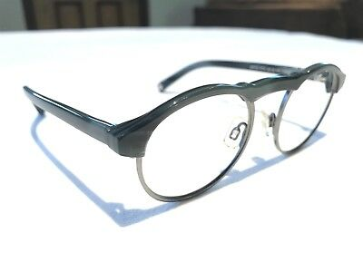 a44a9f504d Warby Parker Bates 3175 Womens Gray Slate Rx Hipster Eyeglasses Frames  46 18~140