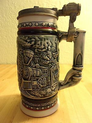 Train Beer Stein Avon 1982 American Locomotives AGE OF THE IRON HORSE