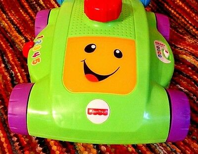 Fisher Price Laugh & Learn Smart Stages Mower (Educational Toy with Batteries)