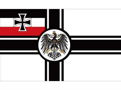 German Empire Flag 1903 To 1918 Iron Cross First World War Germany Army Banner