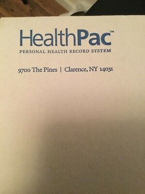 Infant/ Child Health Pac-1 Personal Health Record