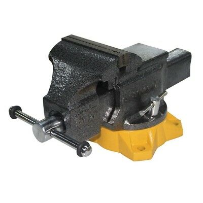 5 in. Mechanic's Bench Vise 5 in. Jaw Width Cast Iron Construction