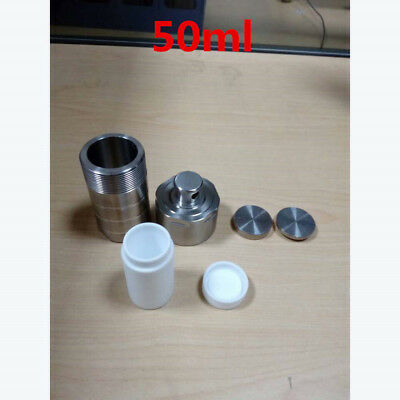 Customized Hydrothermal Autoclave Reactor Chamber Hydrothermal Synthesis 50ml #