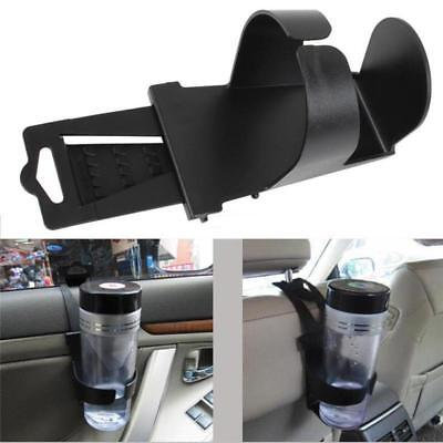 Universal Black Car Drink Cup Holder Installed on Car Door Window and Chair TR