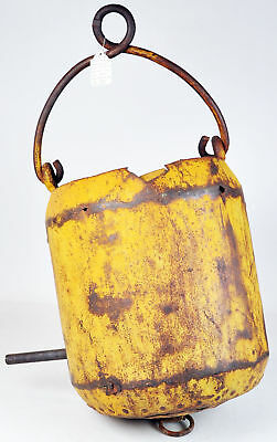 1890 Antique Gold Mine Ore Bucket From Yellow Aster Mine in Randsburg California